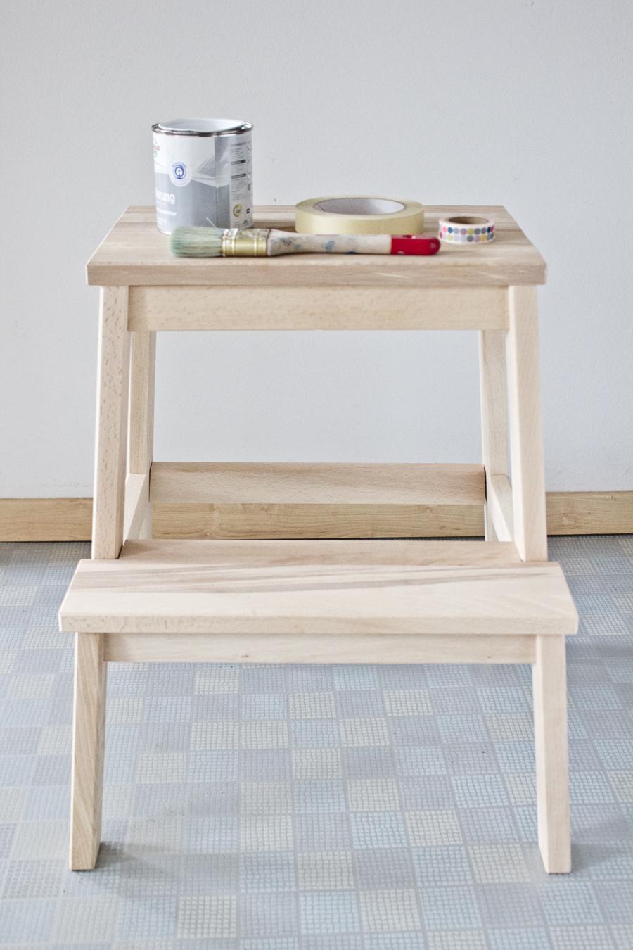 DIY Ikea Step Stool Wood Plans Free