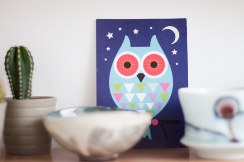 tea_shelf_decoration_owl_card