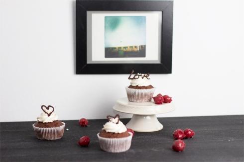 cherry-chocolate-cupcake-art-display