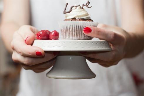 cherry-chocolate-cupcake-serving