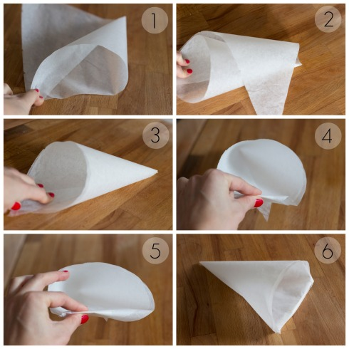 Handmade-paper-piping-bag-instructions