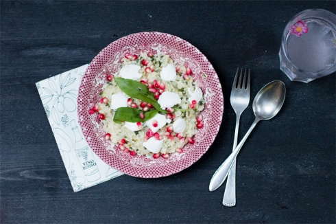 wild-garlic-pomegranate-goat-cream-cheese-recipe