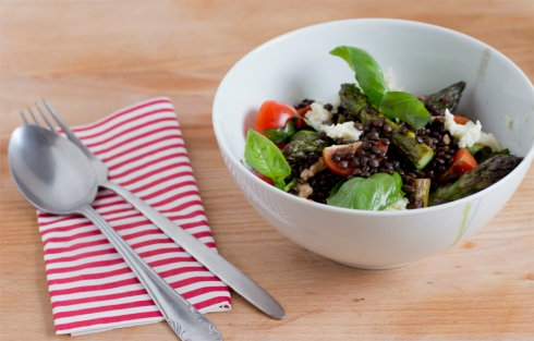 feinkoch-lentils-asparagus-easy-recipe