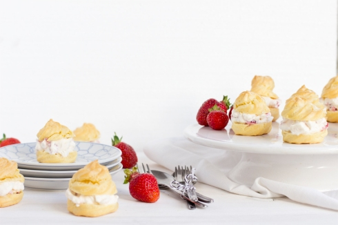 strawberry-choux-pastry-recipe