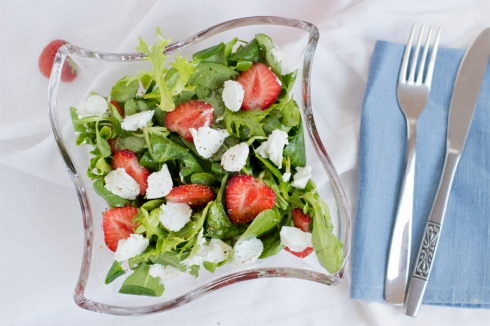 strawberry-mozzarella-summer-salad